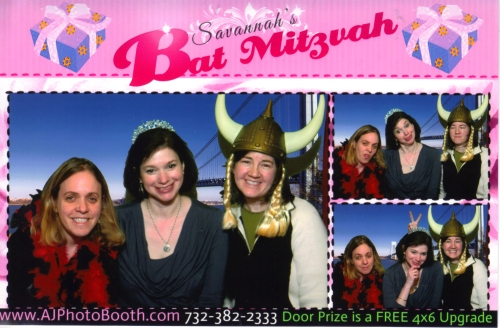 Bat Mitzvah booth