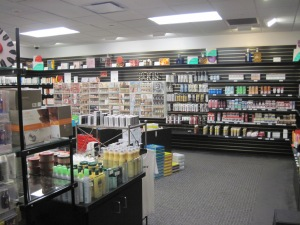 The L'oreal company store in Clark, NJ