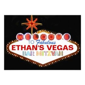 I know there are Jews in Las Vegas. Do you think Ethan is one of them? If we go with this theme, we'll rent some poles and slot machines.