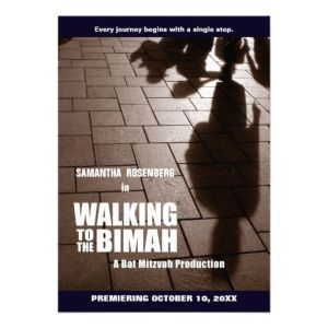 Walking the bimah