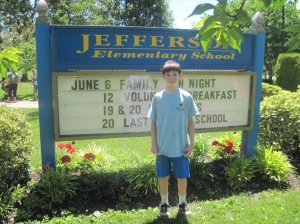 Last day of elementary school ever - 2014