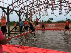 The rings. Photo courtesy of Rugged Maniac.