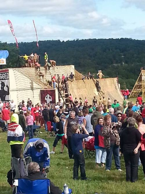 The final obstacle. Photo courtesy of Rugged Maniac.