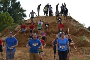 Lots of thigh burner hills. Photo courtesy of Rugged Maniac.