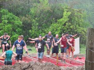 The balance beam. Photo courtesy of Rugged Maniac.