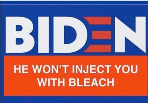 biden bleach